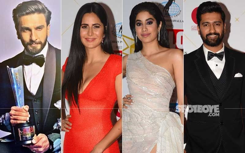 Hello! Hall Of Fame Awards 2019: Ranveer Singh, Katrina Kaif, Janhvi Kapoor, Vicky Kaushal Walk Home With Trophies