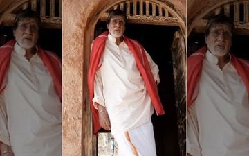 Amitabh Bachchan's Dhoti-Gamcha Look From His Tamil Debut, Uyarndha Manithan Revealed