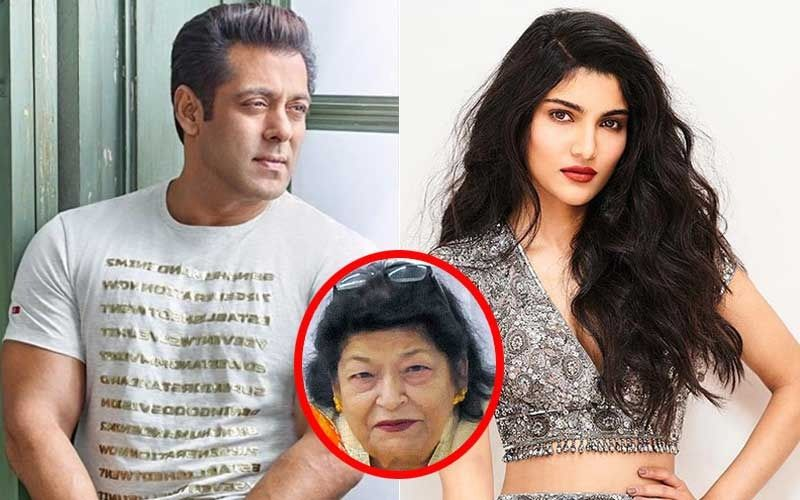 Salman Khan's Niece Alizeh Ready For Showbiz; Saroj Khan To Groom Her