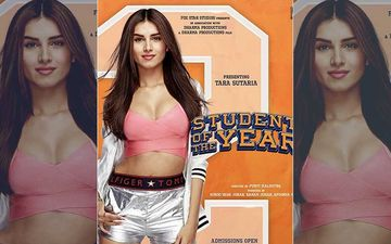 SOTY 2 New Poster: Meet Tara Sutaria Aka Mia; Netizens Question Actress' Sexy School Uniform!