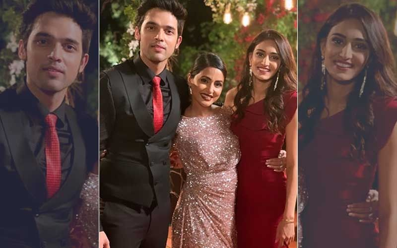 Kasautii Zindagii Kay 2, Hina Khan's Farewell Party: Parth Samthaan-Erica Fernandez Bid Adieu With Much Love
