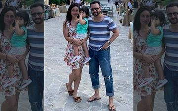 Kareena, Saif And Taimur To Watch India's ICC World Cup Match Vs Australia
