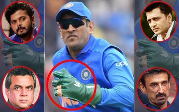 "MS Dhoni Balidaan Badge Row: ""Keep The Glove,"" Sreesanth, Riteish Deshmukh, Paresh Rawal, Rahul Dev Say It Aloud!"
