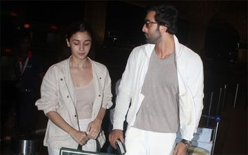 Ranbir Kapoor And Alia Bhatt Take A Break From Brahmastra Shoot To Visit Rishi Kapoor In New York