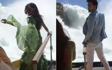 This Video Of Erica Fernandes-Parth Samthaan Enjoying Themselves Near A Zurich Waterfall Looks Straight From Heaven