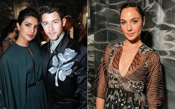 Priyanka Chopra And Nick Jonas Attend Christian Dior Couture Show, Meet Wonder Woman Gal Gadot – View Pics