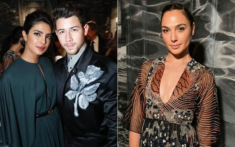 Priyanka Chopra And Nick Jonas Attend Christian Dior Couture Show, Meet Wonder Woman Gal Gadot – View Pics