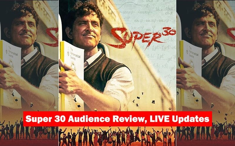Super 30 Movie Audience Review: Cinegoers Hail Hrithik Roshan's Performance