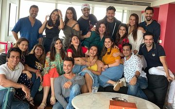 Hrithik Roshan, Kriti Sanon, Neha Dhupia, Sania Mirza Enjoy Sunday Lunch At Farah Khan's House