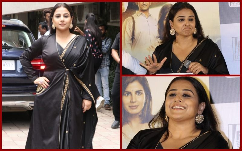 FASHION CULPRIT OF THE DAY: Vidya Balan, Black Is Not Always Safe!