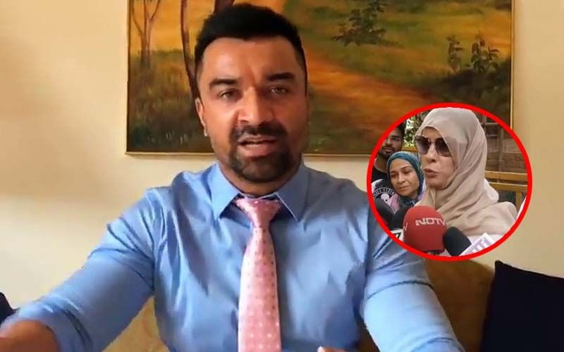 Ajaz Khan's Wife Andrea Reacts On Her Husband's Police Custody; Alleges He Has Been Framed