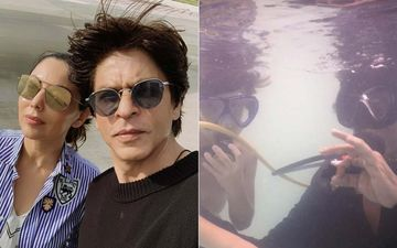 Shah Rukh Khan Misses Maldives Way Too Much; Shares Pic From his Vacay With Gauri And Kids
