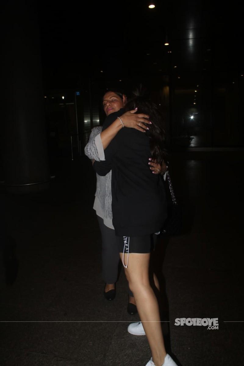 Deepika With Anju Bhavnani