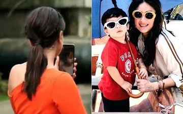 Kareena Kapoor Khan Video Chats With Taimur Ali Khan While On A Shoot; Netizens Laud 'Hardworking Mama'