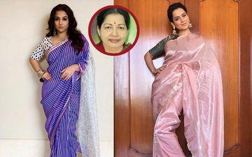 Kangana Ranaut, Not Vidya Balan Was The First Choice To Play Former TN Chief Minister, J Jayalalithaa, In Biopic