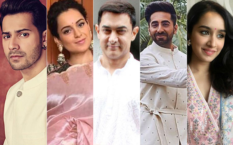 Happy Independence Day 2019: Varun Dhawan, Kangana Ranaut, Aamir Khan, Ayushmann Khurrana, Shraddha Kapoor, Are Drenched In Patriotic Fervour