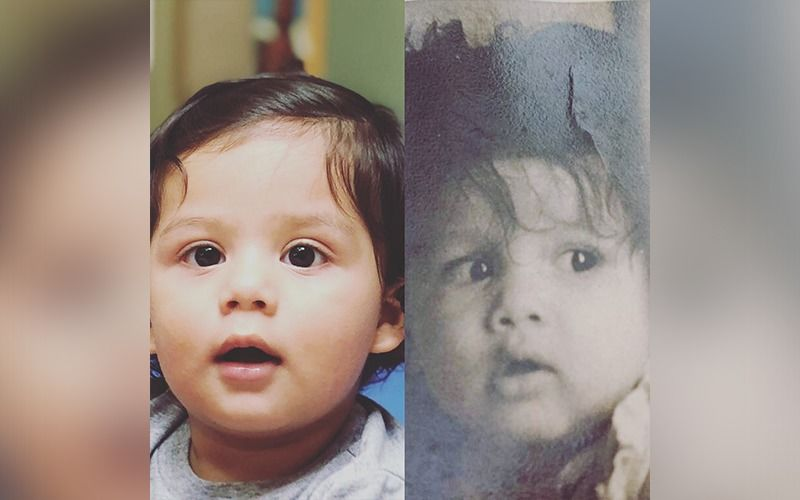 Shahid Kapoor And Son Zain Kapoor's Childhood Pictures Have An Uncanny Resemblance; Calls It #LikeFatherLikeSon