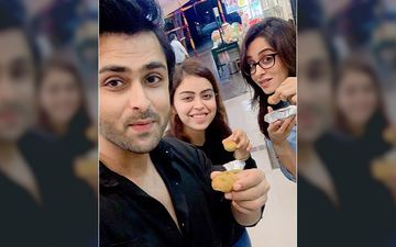 Dipika Kakar Ibrahim Relishes Panipuri With Hubby Shoaib And Sister-In-Law Saba On A Rainy Day – Pictures Inside