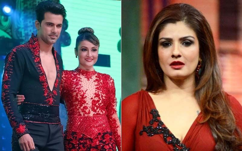 Nach Baliye 9: Raveena Tandon Can't Contain Her Tears As Urvashi Dholakia and Anuj Sachdeva Bid Farewell To The Show