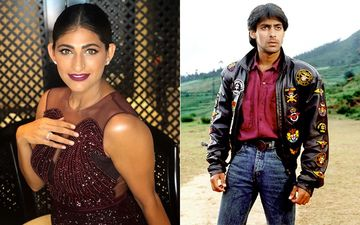 Kubbra Sait Can't Stop Drooling Over An Old Clip Of Salman Khan's Screen Test For Maine Pyar Kiya!