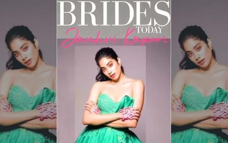 Janhvi Kapoor As The New Age Bride Will Make You Skip A 'Dhadak'; Actress Slays As Cover Girl