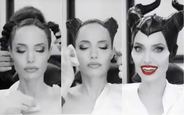 Angeline Jolie's Transforms Into An Evil Villain For Maleficent: Mistress Of Evil Will Make Your Jaws Drop - Watch Video