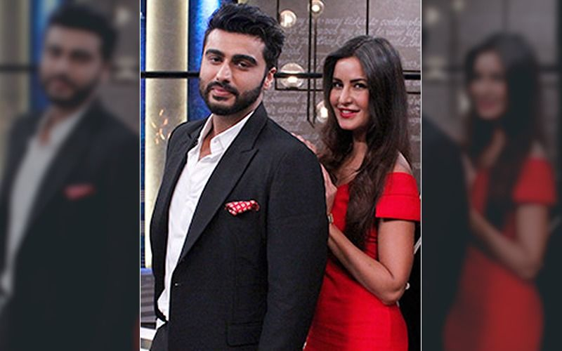 Katrina Kaif Consoles A Sulking Arjun Kapoor As The Actress Teases Him About Their Epic Selfie