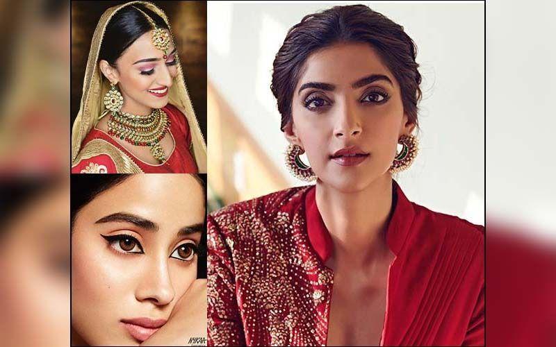 Karwa Chauth 2019 Makeup Tips: Aishwarya Rai Bachchan, Sonam Kapoor, Hina Khan, Erica Fernandes Inspired Looks That You Must Try