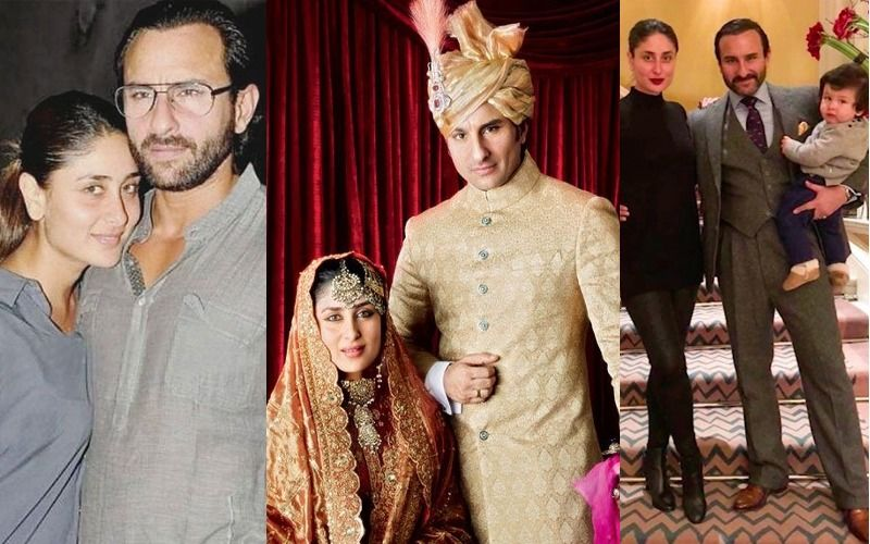 Happy Wedding Anniversary Kareena And Saif Ali Khan: The Love Story Timeline Of Bollywood's Finest Couple