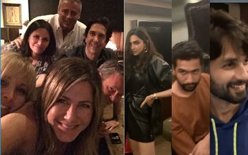 After Bollywood Celeb Party, Jennifer Aniston's Friends Selfie Raises Question Of Drug Use; Fans Spot The 'White Powder'