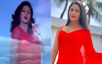 Sanjivani 2 Star Surbhi Chandna Channelizes Her Inner Sridevi From Jaanbaaz In An Iconic Red Saree