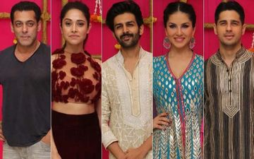 T-Series' Diwali 2019 Bash: Salman Khan, Nushrat Bharucha, Kartik Aaryan, Sunny Leone, Sidharth Malhotra Grace The Star-Studded Night