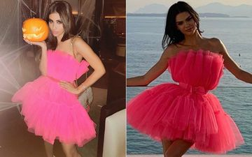 Diet Sabya Takes A Dig At Mouni Roy For Donning A GANDI Copy Of Kendall Jenner's Pink Ruffled Dress