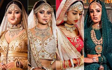 10 Bridal Looks Inspiration, Powered By Erica Fernandes, Anita Hassanandani, Devoleena Bhattacharjee Rashami Desai