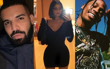 Kylie Jenner's Ex Travis Scott Unfazed With Her Blooming Affair With Rapper Drake