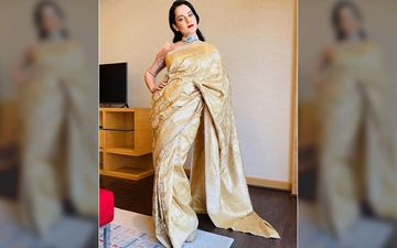 All That Glitters Is Kangana Ranaut, As She Graces Her Brother Aksht's Engagement - Pics And Videos Inside