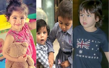 Happy Children's Day 2019:  Meet Paparazzi Favorites- Taimur Ali Khan, Misha Kapoor, Innaya And More