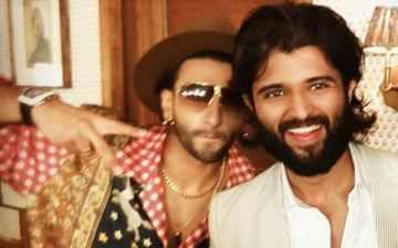 Ranveer Singh And Vijay Deverakonda  In One Frame Compel Fans To Ask Filmmakers To Cast Them In One Film