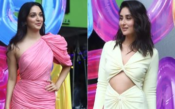 WHO WERKED IT BETTER? Kareena Kapoor Khan OR Kiara Advani At Good Newwz Trailer Launch