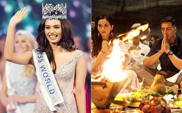 Manushi Chillar Begins Shooting For Prithivraj On The Same Day She Was Crowned Miss World In 2017