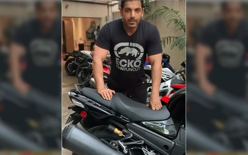 INSIDE John Abraham's Garage: Pagalpanti Actor's Obnoxious Collection Of  Motorcycles Is Worth Several Crores