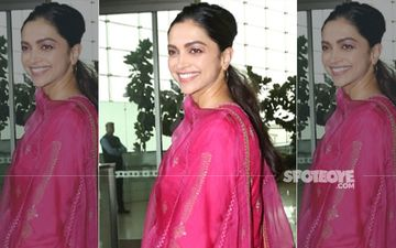 Deepika Padukone Adds A Dash Of Desi Glam To The Mumbai Airport