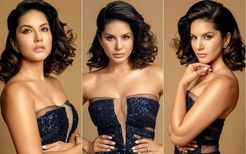Sunny Leone Rocks A Dangerous Peek-A-Boo Neckline At Filmfare Glamour And Style Awards - Pics Inside