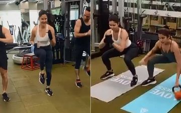 Katrina Kaif Is A Tough Nut As She Masters The Art Of Burpee, Side Burpees And Kettle Bell- Video Inside