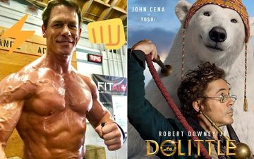 John Cena Reacts To Robert Downey Jr's Dolittle Audition Clip; Praises His Onscreen Character Yoshi The Polar Bear