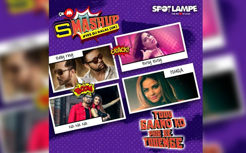 Rock the party with SpotlampE's Year-End Party Smashup Featuring A Smashing Mix Of Latest Hit Songs