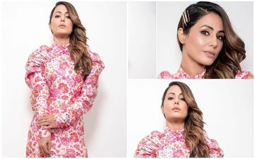 FASHION CULPRIT OF THE DAY: Hina Khan, Sprinkle Mud On This Wrinkle Dress