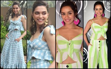Deepika Padukone's Flirty Checks Or Shraddha Kapoor's Naughty Stripes- Who Looked Hotter?