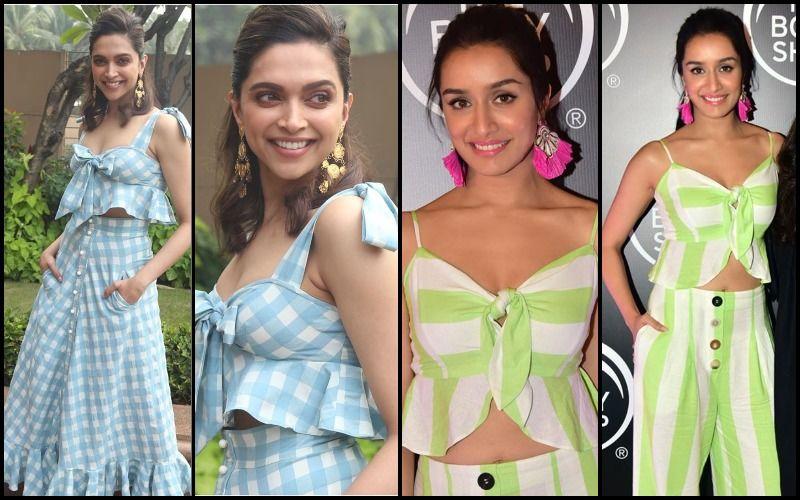 Deepika Padukone's Flirty Checks Or Shraddha Kapoor's Naughty Stripes- Who Looked Hotter?