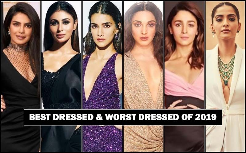 BEST DRESSED & WORST DRESSED Bollywood Actresses Of 2019: Priyanka Chopra Jonas, Mouni Roy, Kriti Sanon, Kiara Advani, Alia Bhatt Or Sonam Kapoor?